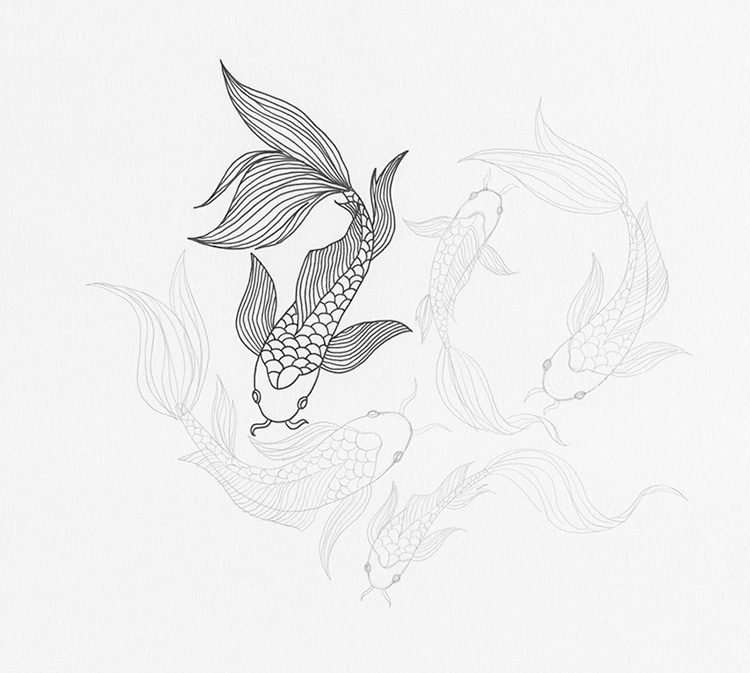 how to draw a fish how to draw a 3d fish step by step fish animals free draw to a how fish