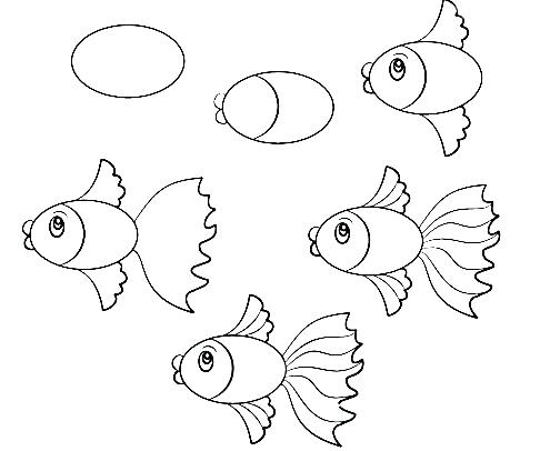 how to draw a fish how to draw a fish step by step realistic fish draw a how to