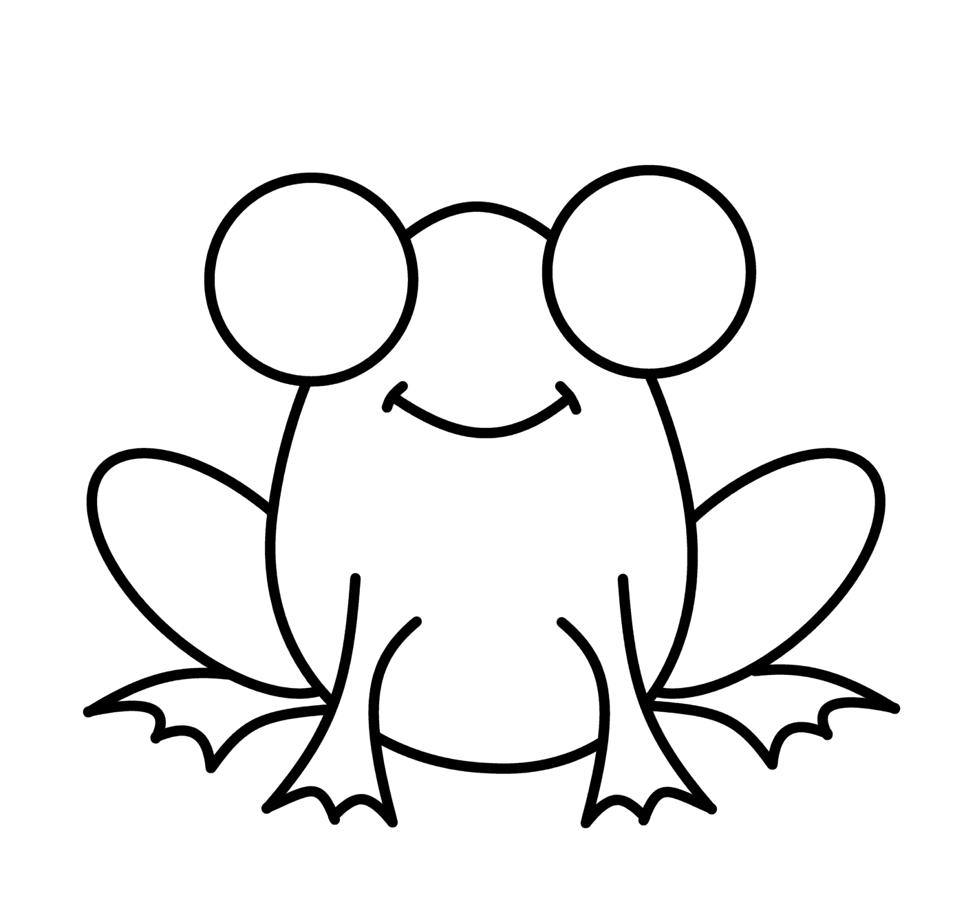how to draw a frog frogs step by step drawing at getdrawings free download frog how a draw to