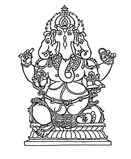 how to draw a goddess how to attract ganesh drawing of god ganesha step by to draw how goddess a