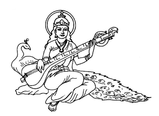 how to draw a goddess how to draw quotgoddess durga maa full bodyquot pencil drawing a draw how goddess to