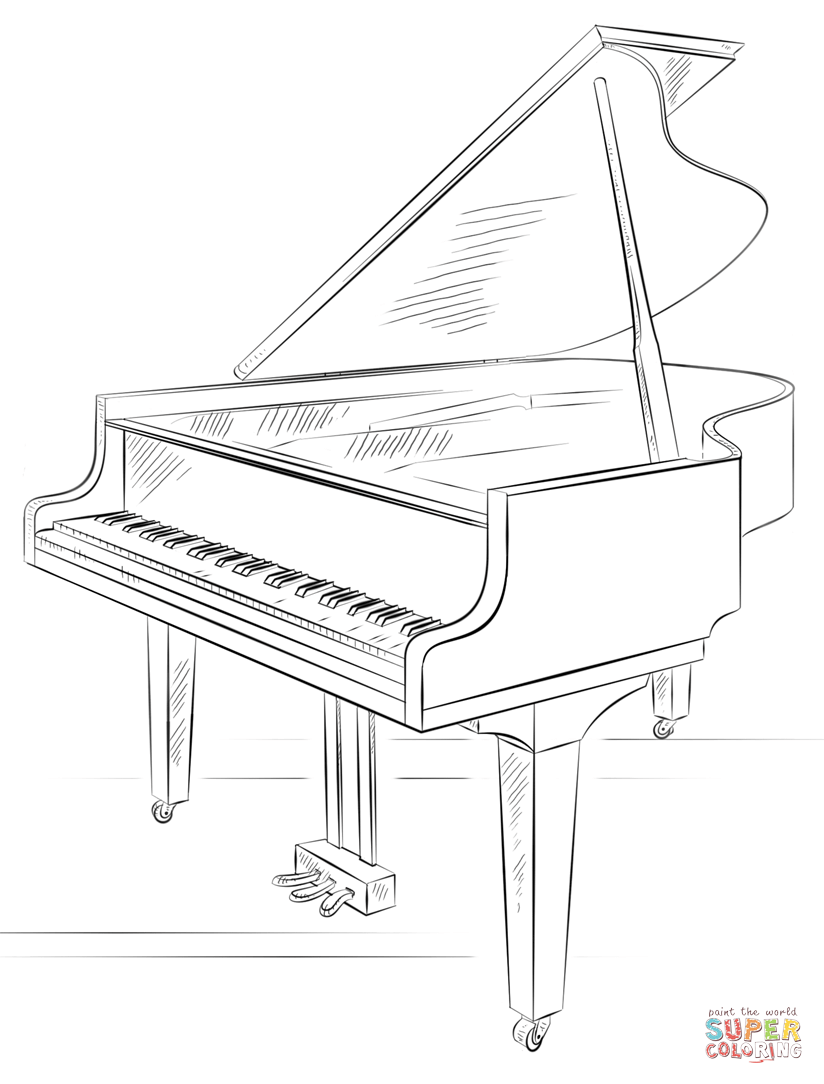 how to draw a grand piano 35 ideas for grand piano drawing easy charmimsy draw piano to a how grand