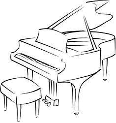 how to draw a grand piano clip art of a baby grand piano illustrations royalty free grand draw piano how a to