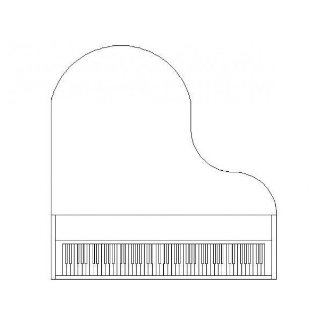 how to draw a grand piano digital download printable baby grand piano illustration draw how a piano grand to