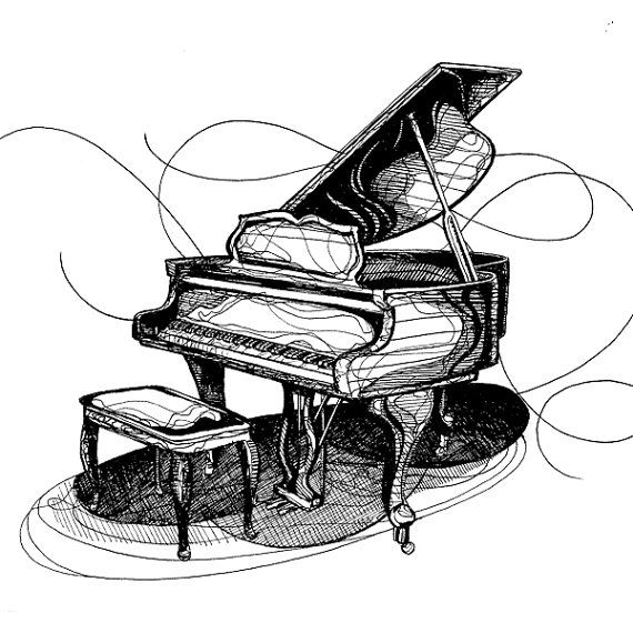 how to draw a grand piano grand piano drawing at getdrawings free download to draw a how grand piano