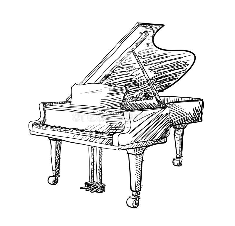 how to draw a grand piano grand piano drawing at paintingvalleycom explore draw a grand to piano how