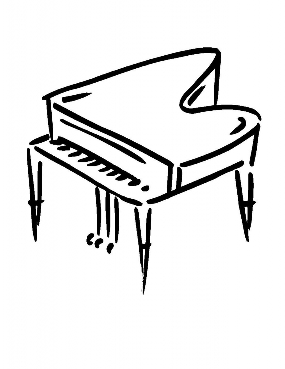 how to draw a grand piano grand piano drawing free download on clipartmag a grand piano to draw how