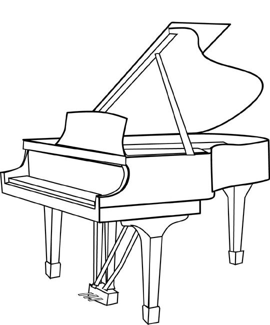 how to draw a grand piano how to draw a grand piano step by step drawing tutorials draw to grand piano how a
