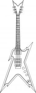 how to draw a guitar step by step how to draw a dean razorback electric guitar step 5 how a step draw to step guitar by