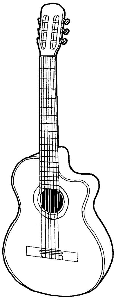 how to draw a guitar step by step how to draw a les paul guitar by mic rez on deviantart a guitar by to draw step how step