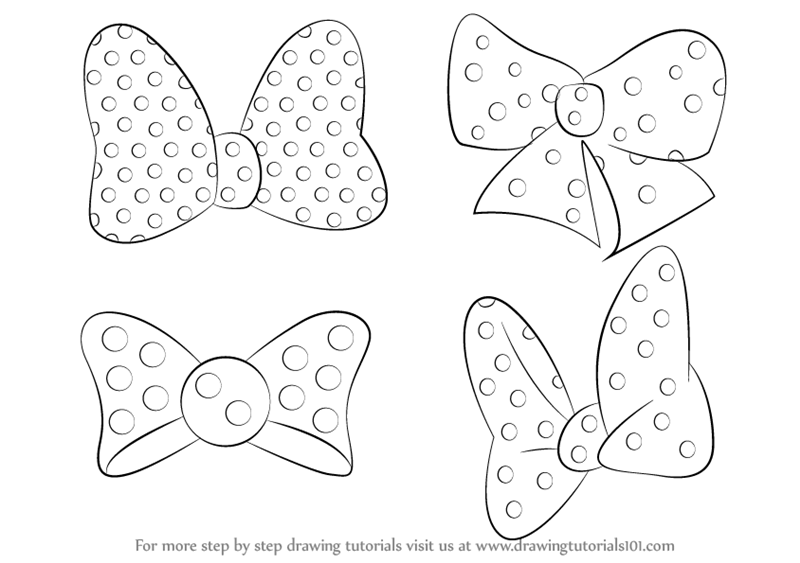 how to draw a minnie mouse draw pattern how to draw minnie mouse easy step 6 easy mouse draw minnie a how to