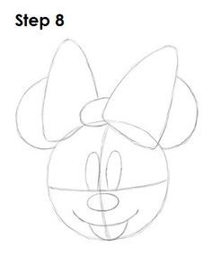 how to draw a minnie mouse minnie mouse bow drawing at getdrawings free download draw a to mouse how minnie