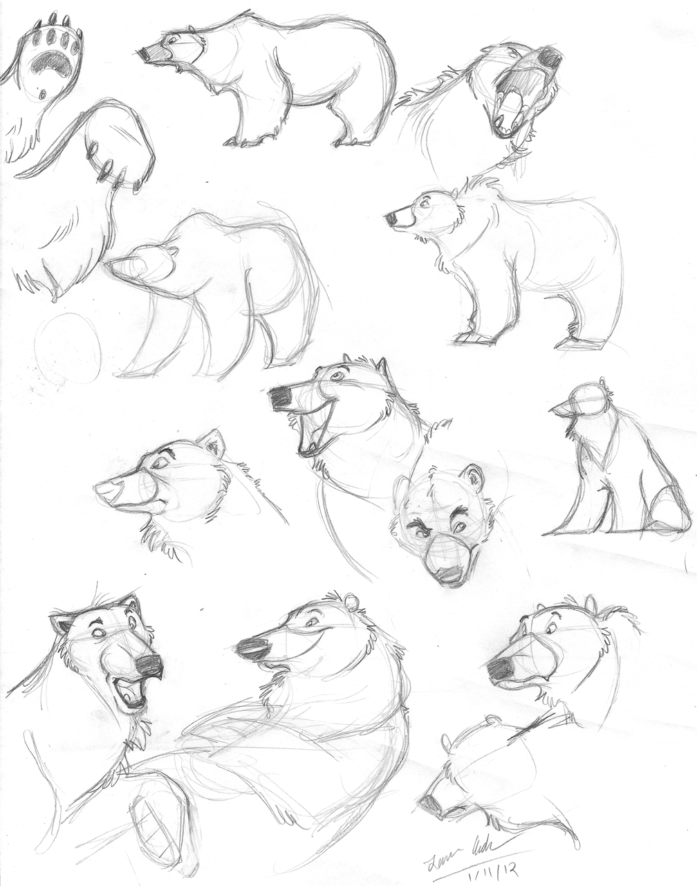 how to draw a polar bear head how to draw a polar bear head how to a head polar draw bear