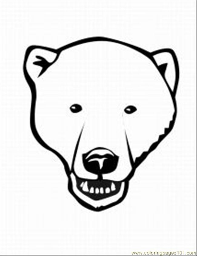 how to draw a polar bear head how to draw a polar bear lovetoknow how bear draw head a polar to