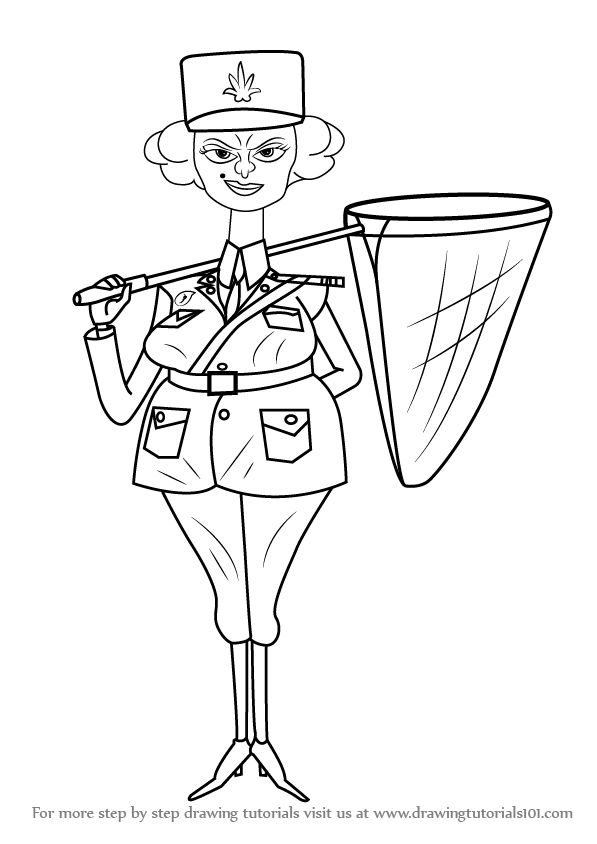 how to draw a police officer learn how to draw police officer from madagascar how police draw officer to a
