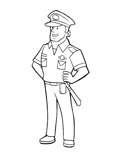 how to draw a police officer police drawing at getdrawings free download to how a police draw officer