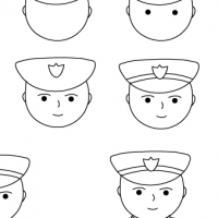 how to draw a police officer police officer sketch at paintingvalleycom explore draw a officer how to police