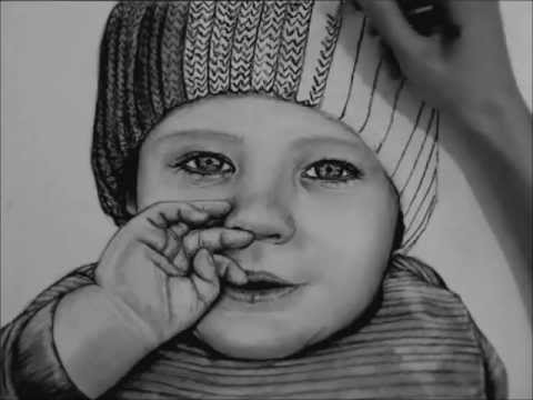 how to draw a real baby 51 cute baby portrait drawings ideas in 2020 cute babies how a draw baby to real