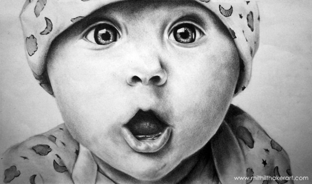 how to draw a real baby baby drawing drawingsomeonecom coloring pages in 2019 real draw to how a baby
