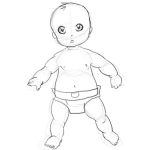 how to draw a real baby baby pencil portrait drawing pencil portrait pencil draw real baby how to a