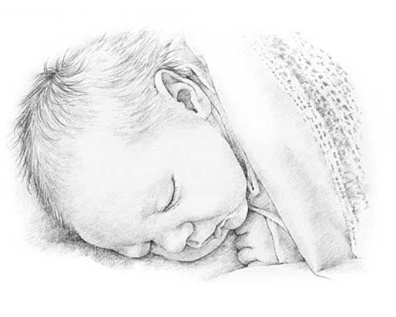 how to draw a real baby how to draw baby and toddlers heads in the correct real to baby draw how a
