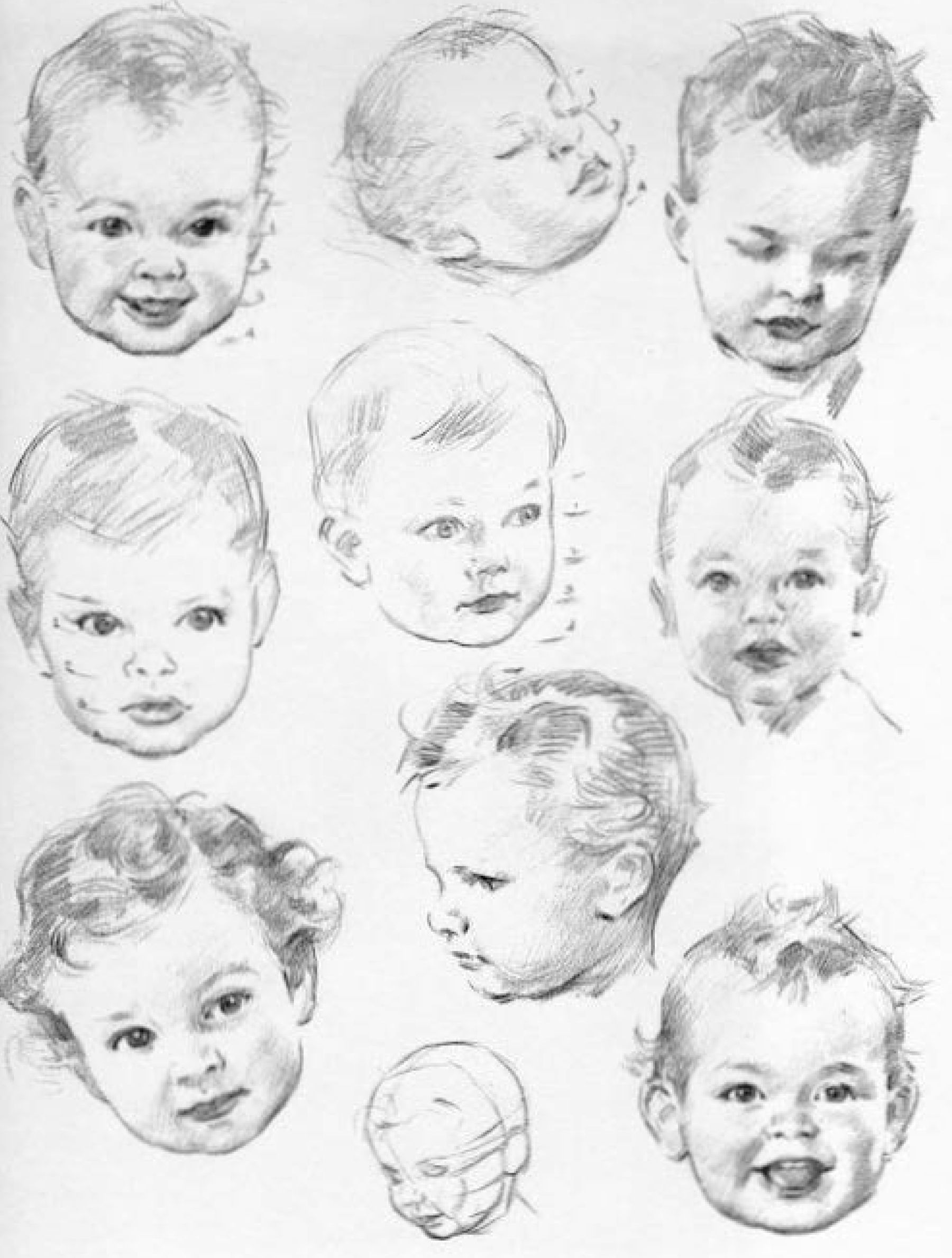 how to draw a real baby newborn baby portrait pencil drawing customised and to baby how a draw real