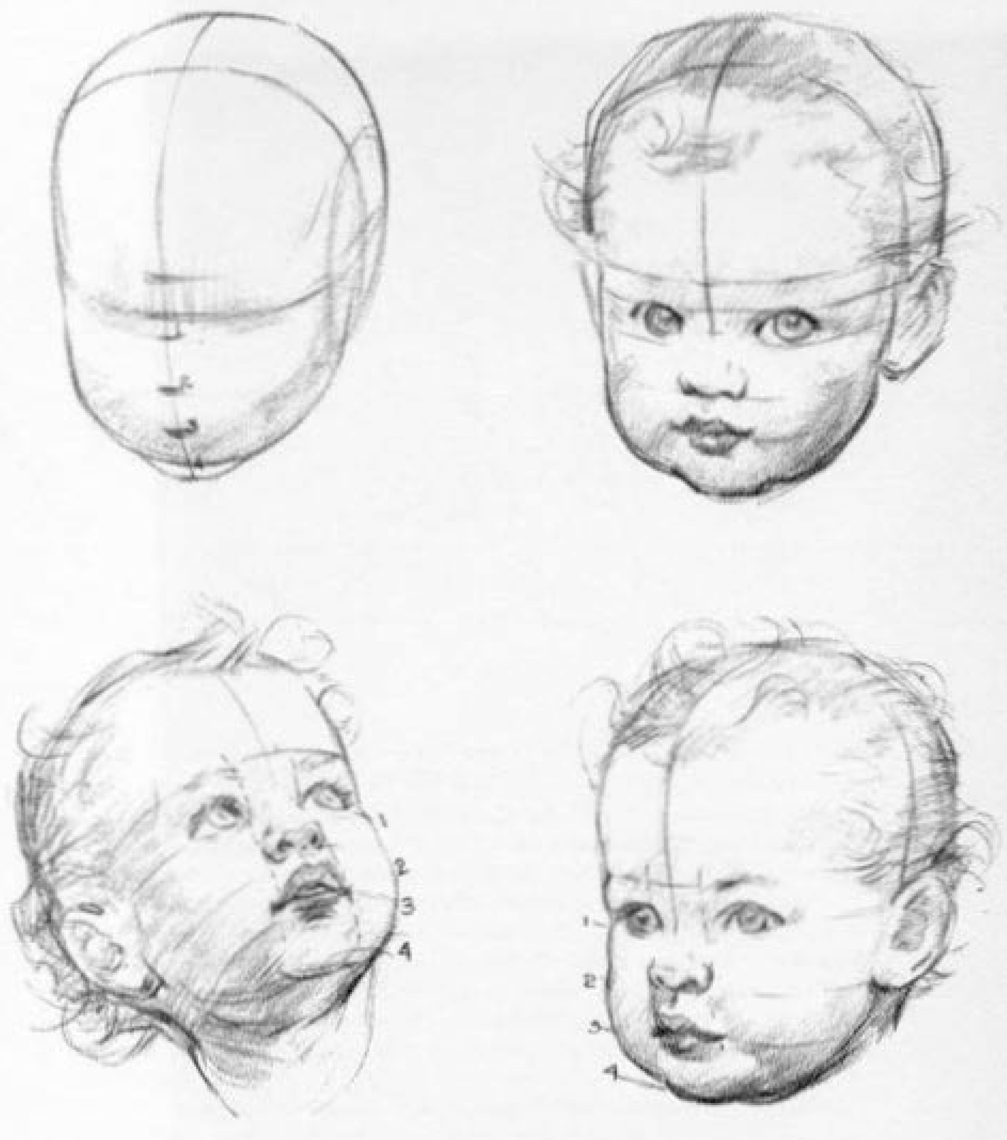 how to draw a real baby realistic baby drawing at getdrawings free download a real draw how baby to