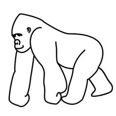 how to draw a silverback gorilla how to draw a gorilla gorillas art drawings gorilla to silverback how gorilla draw a