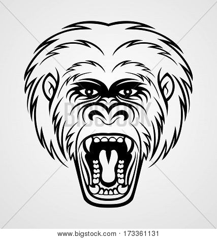 how to draw a silverback gorilla silverback gorilla drawing at getdrawings free download to gorilla how draw a silverback