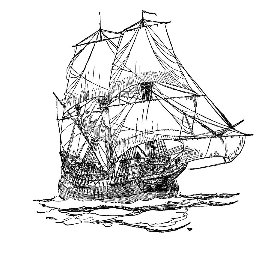 how to draw a spanish galleon galleon plans dessin to draw a galleon how spanish