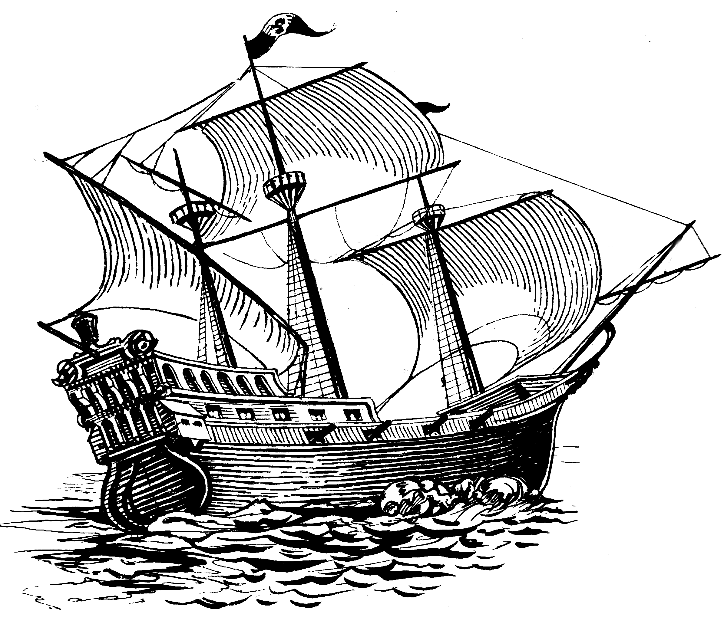 how to draw a spanish galleon galleon ship galleon downloads and sketches spanish how a galleon to draw