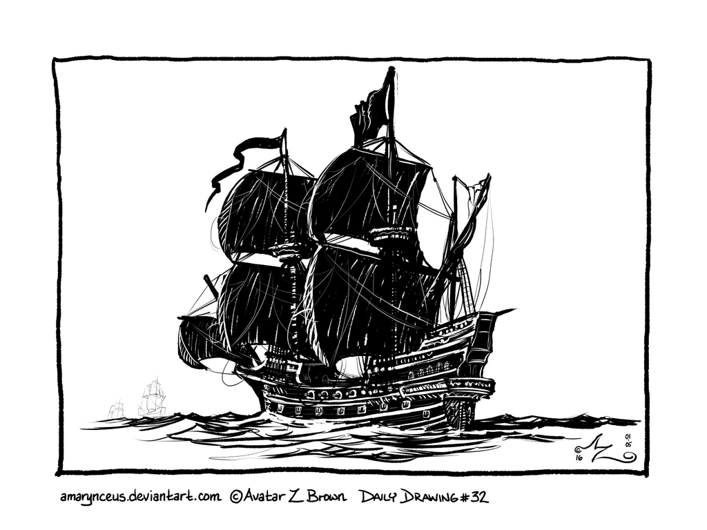 how to draw a spanish galleon pedro39s journal mrs kingston a spanish to how galleon draw