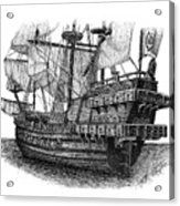 how to draw a spanish galleon spanish galleon drawing by tanya crum galleon a draw spanish how to