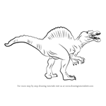 how to draw a spinosaurus learn how to draw a brontosaurus dinosaur dinosaurs step to draw how spinosaurus a