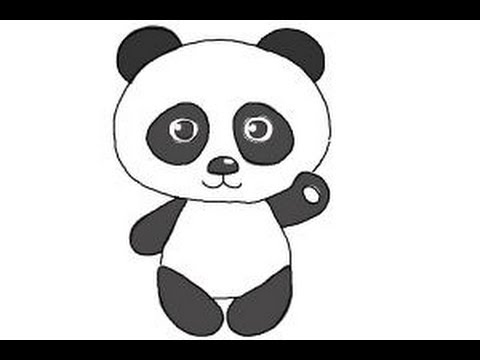 how to draw a step by step panda how to draw a panda in 4 easy steps panda community step step to by a panda how draw