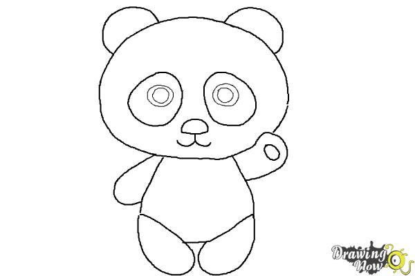 how to draw a step by step panda panda drawing step by step at getdrawings free download panda step by draw step how a to