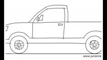 how to draw a truck a truck draw a truck a to draw how truck