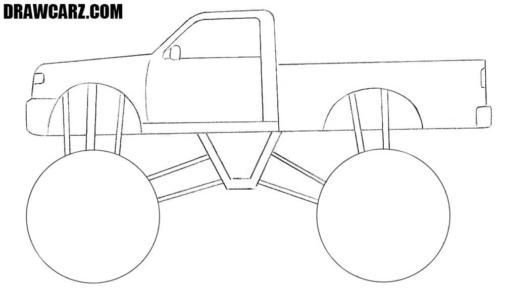 how to draw a truck cement truck how to draw a cement truck youtube how truck to a draw