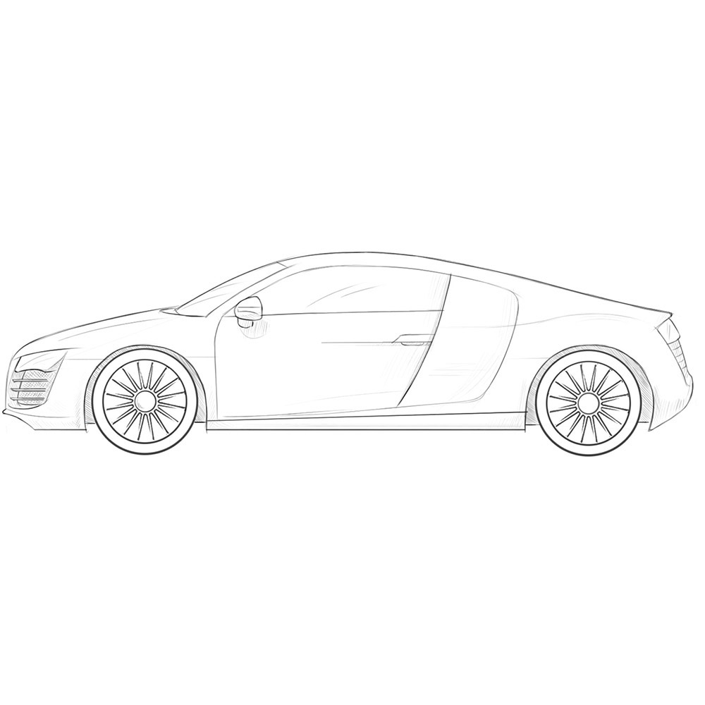 how to draw a truck how to draw a charger step by step cars draw cars draw how to truck a