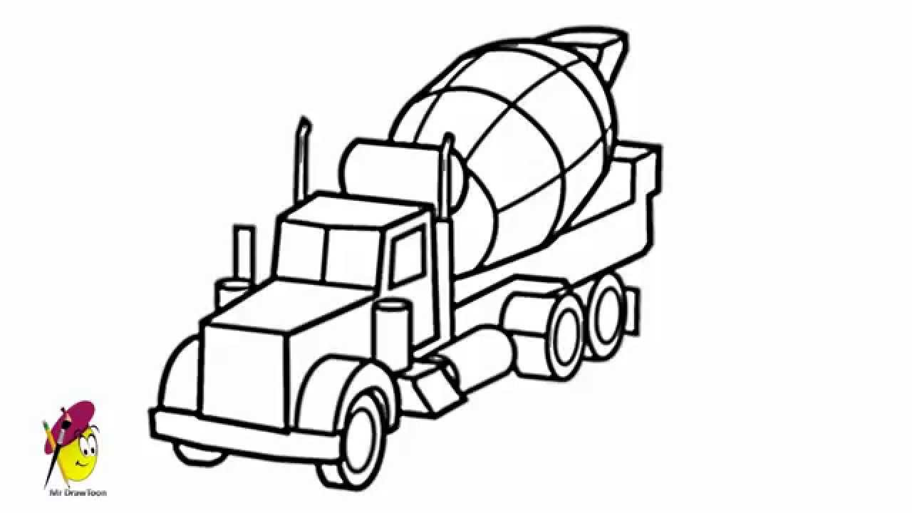 how to draw a truck how to draw a monster truck drawingforallnet truck a to how draw