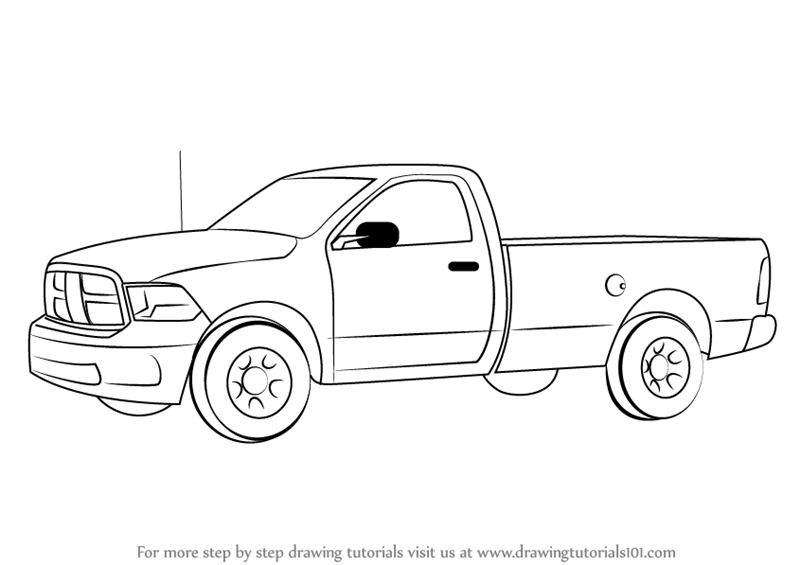 how to draw a truck how to draw a truck drawcarz a to how draw truck