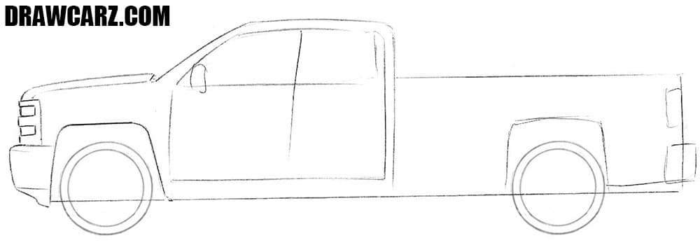 how to draw a truck how to draw a truck drawcarz a truck draw to how