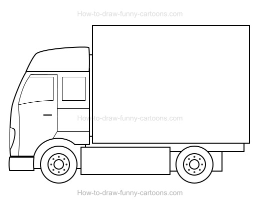 how to draw a truck how to draw worksheets for the young artist how to draw a a how truck to draw
