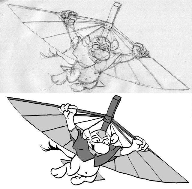 how to draw aang 2007 ratcreature39s artwork to how aang draw
