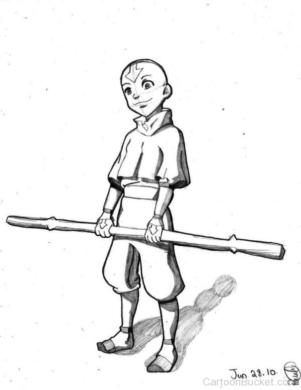 how to draw aang aang drawing to how draw aang