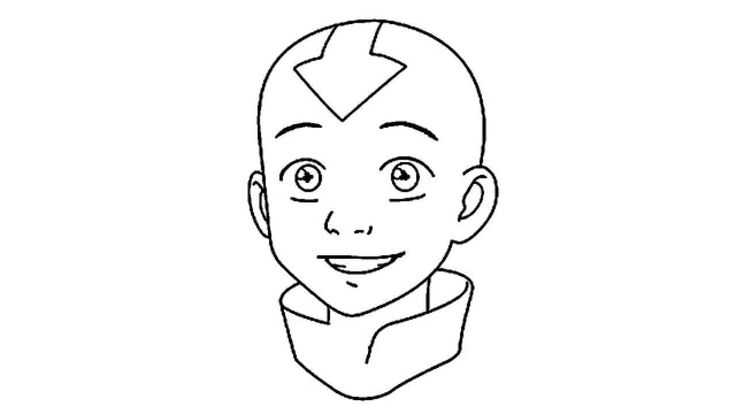how to draw aang aang sketch by daniale96 on deviantart aang how to draw