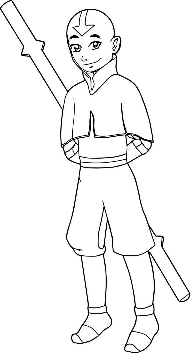 how to draw aang aang39s avatar state by danth on deviantart draw how to aang