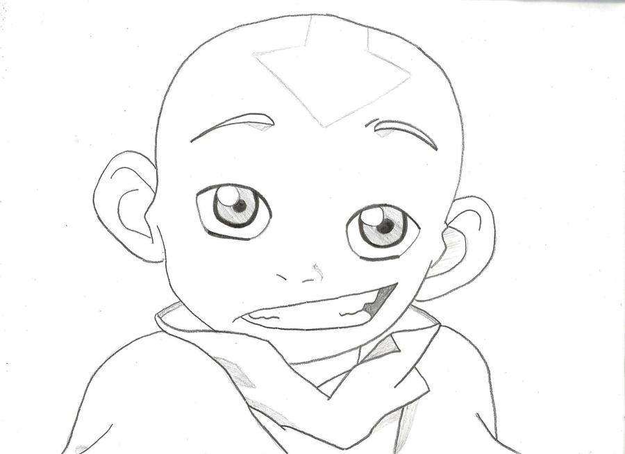 how to draw aang cool the legend of aang suki portrait dejakob daqc avatar draw how to aang