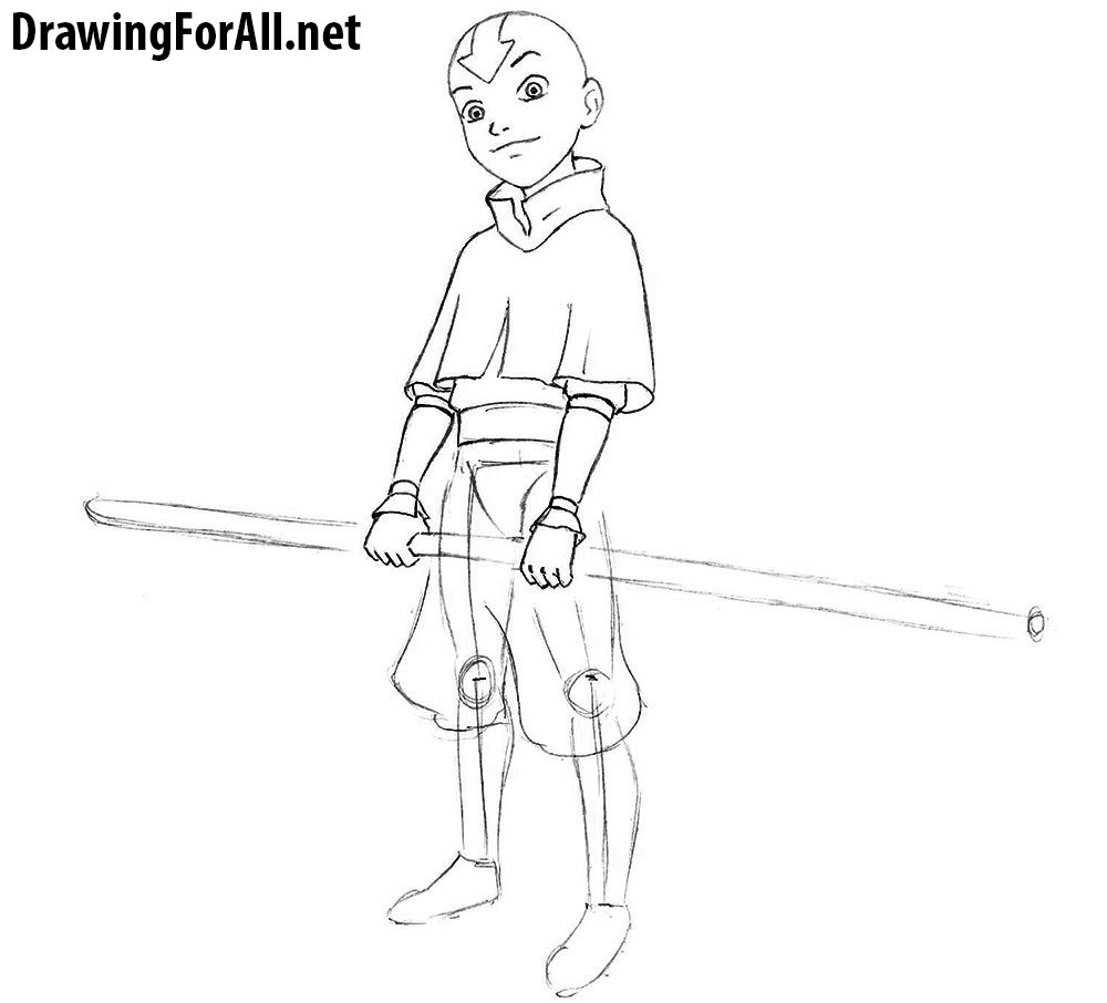 how to draw aang how to draw avatar aang from avatar the last airbender draw how aang to