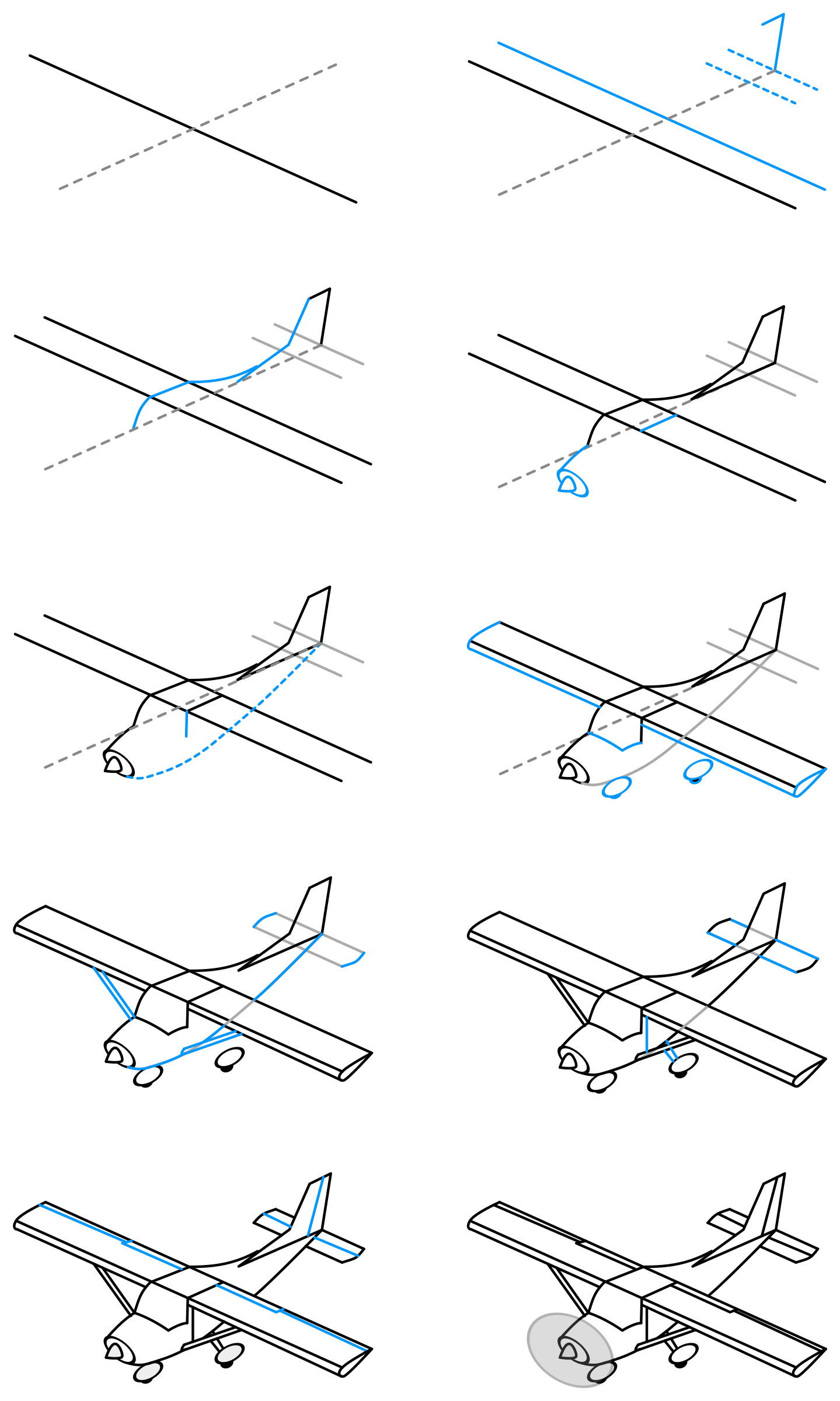 how to draw an airplane step by step how to draw aeroplane for kids slide 2 click to to by an draw step how airplane step